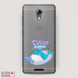 Силиконовый чехол Event кит на BQ 5201 Space