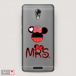 Силиконовый чехол Mrs Mouse на BQ 5201 Space