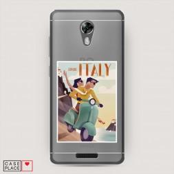 Силиконовый чехол Постер Италия на BQ 5201 Space