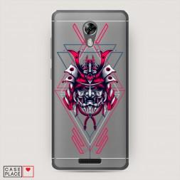 Силиконовый чехол Дьявол злой ронин самурай на BQ 5201 Space