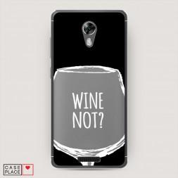 Cиликоновый чехол Wine not black на BQ 5201 Space