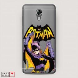 Cиликоновый чехол Бэтмен выслеживает Бэтгерл на BQ 5201 Space