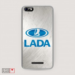 Силиконовый чехол Lada silver на BQ 5058 Strike Power Easy