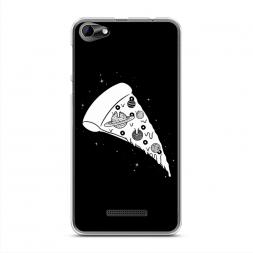 Силиконовый чехол Космическая пицца на BQ 5058 Strike Power Easy
