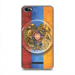 Силиконовый чехол Герб Армении флаг на BQ 5058 Strike Power Easy