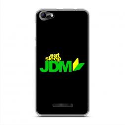 Силиконовый чехол Eat, Sleep, JDM logo на BQ 5058 Strike Power Easy