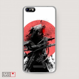 Силиконовый чехол Темный самурай на BQ 5058 Strike Power Easy