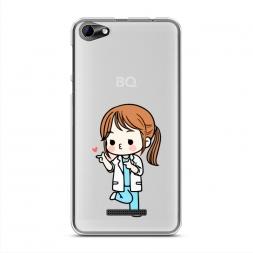 Силиконовый чехол Song Hye Kyo heart на BQ 5058 Strike Power Easy