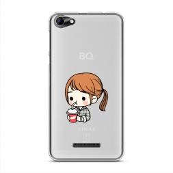 Силиконовый чехол Sweet Song Hye Kyo на BQ 5058 Strike Power Easy