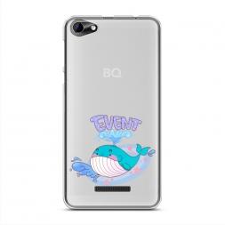 Силиконовый чехол Event кит на BQ 5058 Strike Power Easy