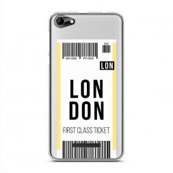 Силиконовый чехол Билет в Лондон на BQ 5058 Strike Power Easy