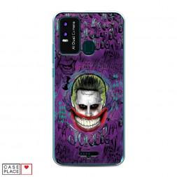 Силиконовый чехол Улыбка Джокера на BQ 6630L Magic L