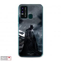 Силиконовый чехол Зов Бэтмена на BQ 6630L Magic L