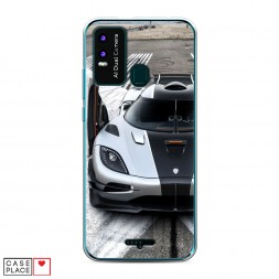 Силиконовый чехол Koenigsegg 2 на BQ 6630L Magic L