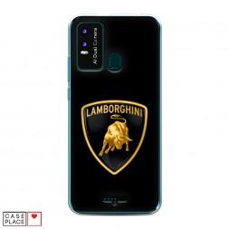 Силиконовый чехол Ламборджини на BQ 6630L Magic L