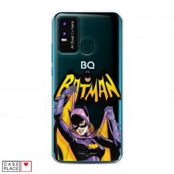 Силиконовый чехол Бэтмен выслеживает Бэтгерл на BQ 6630L Magic L