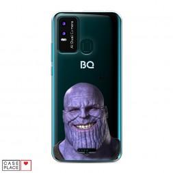 Силиконовый чехол Танос мем на BQ 6630L Magic L