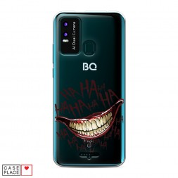 Силиконовый чехол Смех Джокера на BQ 6630L Magic L