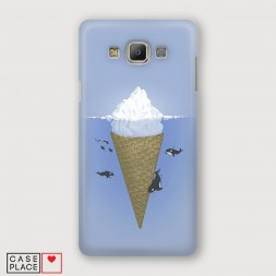 Пластиковый чехол Айсберг на Samsung Galaxy A7