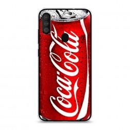 Силиконовый чехол Кока Кола на Samsung Galaxy A11