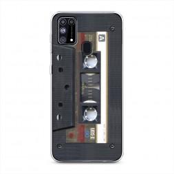 Силиконовый чехол Пленочная кассета на Samsung Galaxy M31