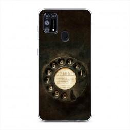 Силиконовый чехол Старинный телефон на Samsung Galaxy M31