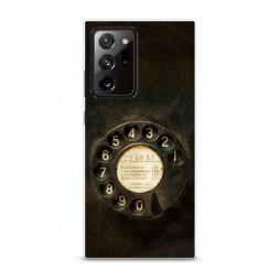 Силиконовый чехол Старинный телефон на Samsung Galaxy Note 20 Ultra