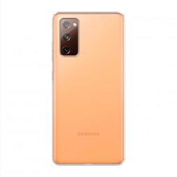 Силиконовый чехол без принта на Samsung Galaxy S20 FE