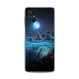 Силиконовый чехол Ночные пейзажи 3 на Samsung Galaxy M31s