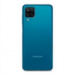 Силиконовый чехол без принта на Samsung Galaxy A12
