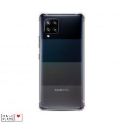 Противоударный силиконовый чехол Прозрачный на Samsung Galaxy A42