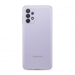 Силиконовый чехол без принта на Samsung Galaxy A32