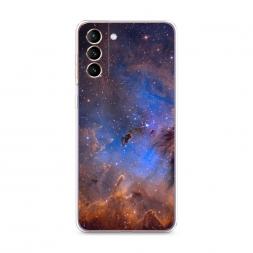Силиконовый чехол Туманность 5 на Samsung Galaxy S21 Plus