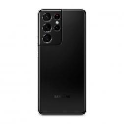 Силиконовый чехол без принта на Samsung Galaxy S21 Ultra
