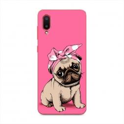 Силиконовый чехол Dog Pin-Up на Samsung Galaxy A02