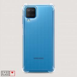 Противоударный силиконовый чехол Прозрачный на Samsung Galaxy M12