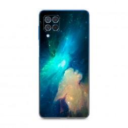 Силиконовый чехол Космос 3 на Samsung Galaxy M62