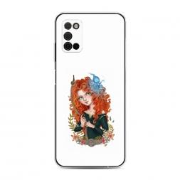 Силиконовый чехол Храбрая сердцем 3 на Samsung Galaxy A03S