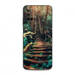 Силиконовый чехол Лес 3 на Samsung Galaxy A03S