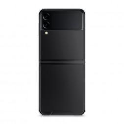 Силиконовый чехол без принта на Samsung Galaxy Z Flip 3