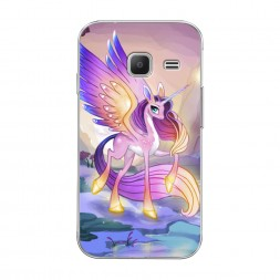 Силиконовый чехол My little pony 6 на Samsung Galaxy J1 mini 2016
