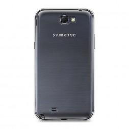Силиконовый чехол без принта на Samsung Galaxy Note 2