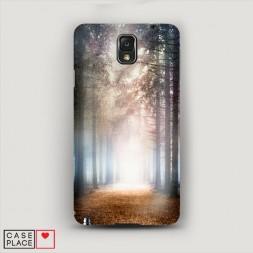 Пластиковый чехол Зачарованный лес на Samsung Galaxy Note 3