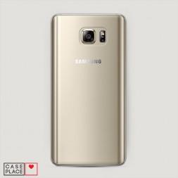 Пластиковый чехол без принта на Samsung Galaxy Note 5