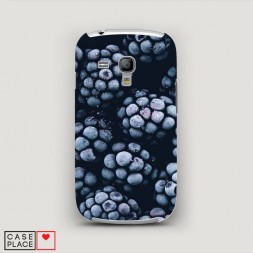 Пластиковый чехол Морозная Ежевика на Samsung Galaxy S3 mini