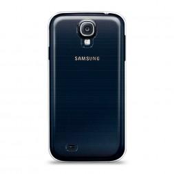 Силиконовый чехол без принта на Samsung Galaxy S4
