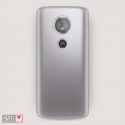 Силиконовый чехол без принта на Motorola Moto E5