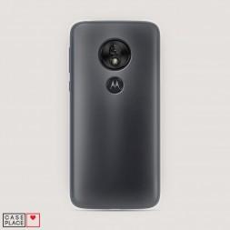 Силиконовый чехол без принта на Motorola Moto G7 Play