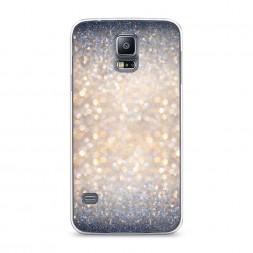 Силиконовый чехол Мерцание рисунок на Samsung Galaxy S5