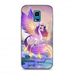 Силиконовый чехол My little pony 6 на Samsung Galaxy S5 mini